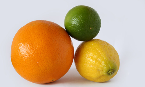 Oranges and sweet limes