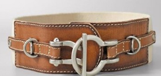 Interlock Bar Stretch Belt