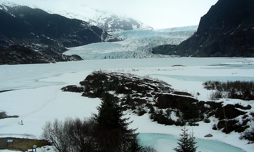The Mendenhall Glacier, USA