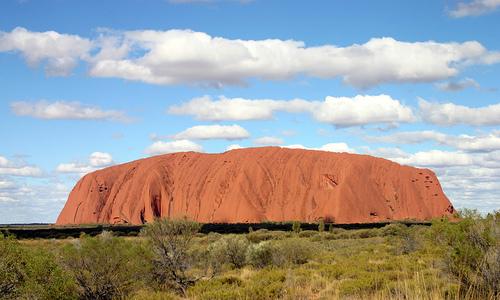 The Uluru, Australia