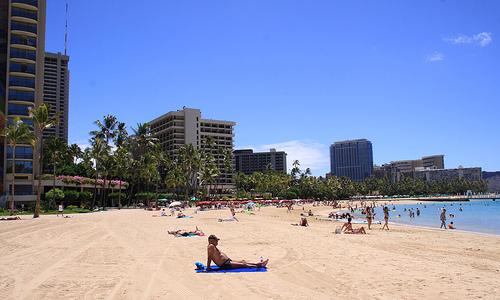 Wakiki Beach, Hawaii
