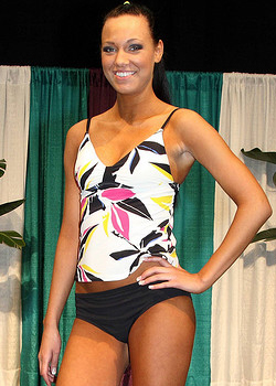 Tankini for timid body types