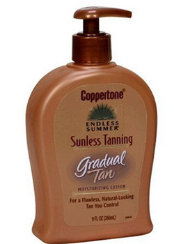 Coppertone Endless Summer Sunless Tanning Moisturizing Lotion, Gradual Tan