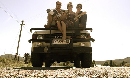 Go for a road trip with your friends
