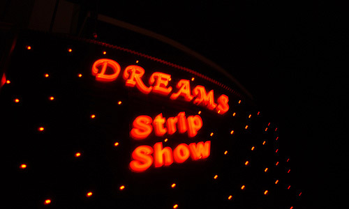 Visit a strip club