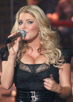 <h4>2. Jessica Simpson's battle with weight loss</h4>
