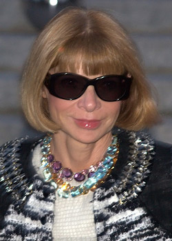 Anna Wintour, Editor-in-Chief of Vogue Magazine
