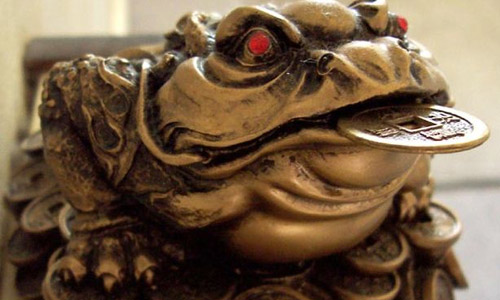 3. Three-legged frog