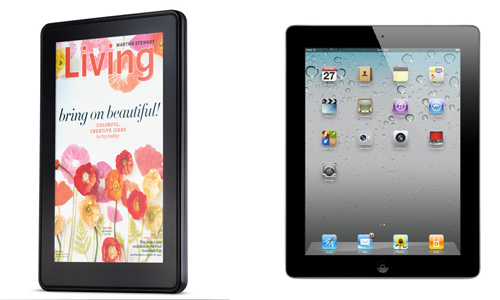 Apple iPad 2 Vs. Amazon Kindle Fire