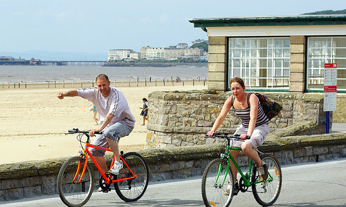 50 Fun Date Ideas- Go out biking together