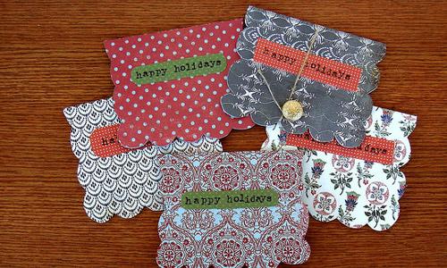 10 Homemade Christmas Cards Ideas