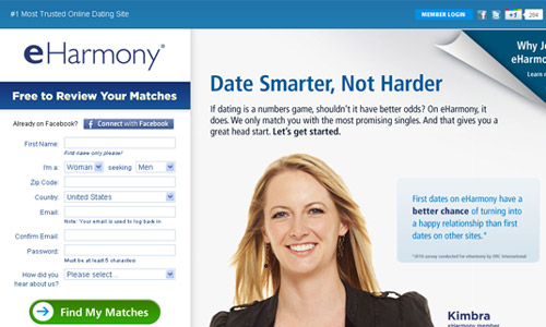 Harmony com dating site