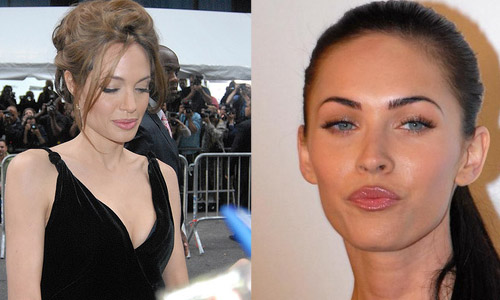 <h4>6. Angelina Jolie vs. Megan Fox</h4>