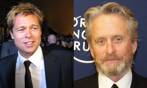 Brad Pitt vs. Michael Douglas