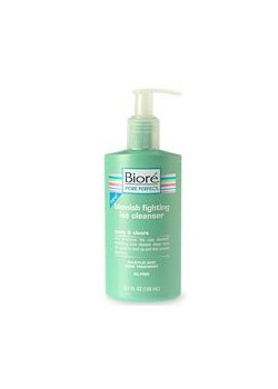 Biore Blemish Fighting Ice Cleanser