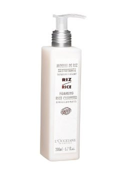 L'Occitane's Rice Foaming Cleanser