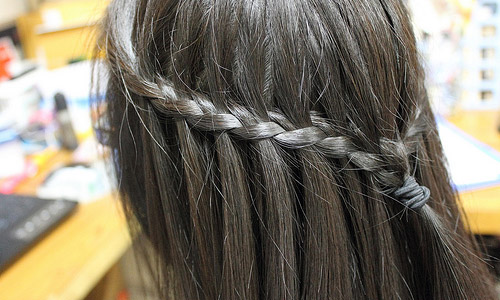 How to Do a Waterfall Braid?