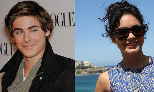 Zac Effron and Vanessa Hudgens