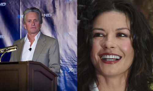 Michael Douglas and Catherine Zeta Zones