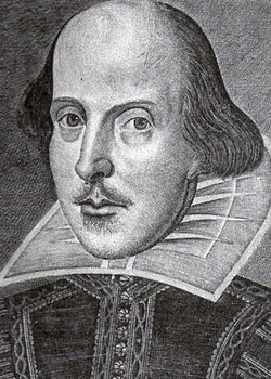 William Shakespeare (26 April 1564 baptized-23 April 1616)