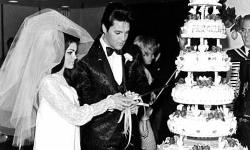 Elvis Presley and Priscilla Wagner