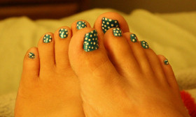 3 Steps to Do Toenail Art Designs