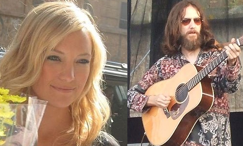 Kate Hudson and Chris Robinson