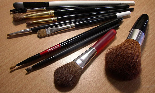 3 Different Makeup Brushes And Their Uses
