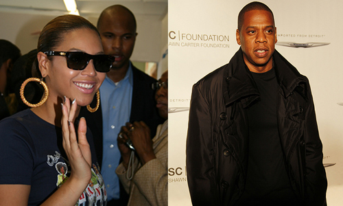 Beyoncé Knowles and Jay-Z Carter