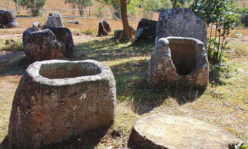 The Plain Jars of Laos