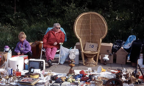 Things You Should Never Buy in a Garage Sale