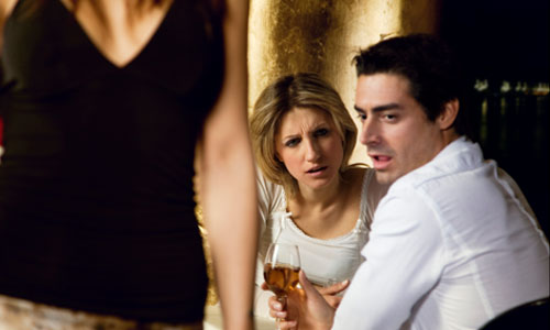 8 Tips to Deal with Your Boyfriend's Flirty Girl Pal
