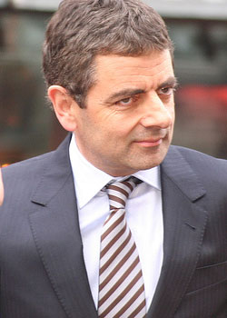 Rowan Atkinson (born on January 6)
