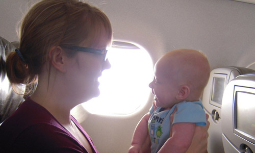5 Tips When You are Flying with a Baby