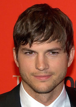 Ashton Kutcher (born on February 7)