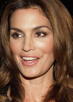 12.	Cindy Crawford (born on February 20)