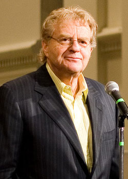<h4>9. Jerry Springer as Mayor</h4>