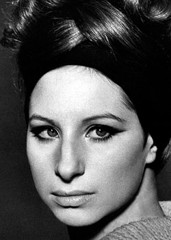 Barbara Streisand (born on April 24