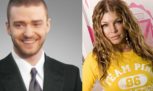 Justin Timberlake and Fergie