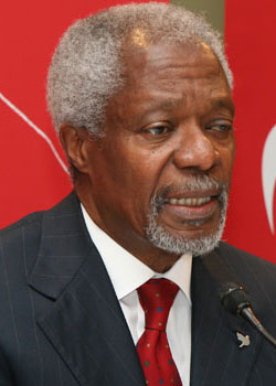 Kofi Annan (born on April 8)