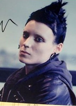 Rooney Mara for 'The girl with the dragon tattoo'