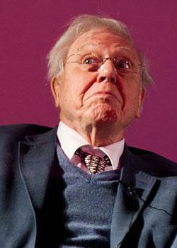 David Attenborough (born on May 8)