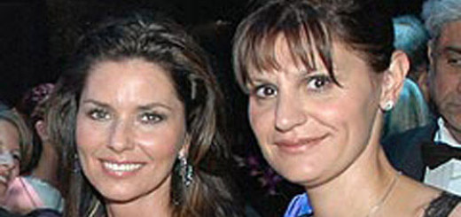 Shania Twain and Marie-Anne Thiebaud