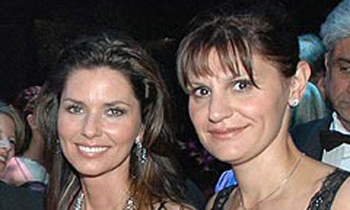 Shania Twain and Marie-Anne Thiebaud