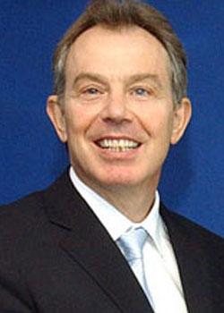 Tony Blair (born on May 6)
