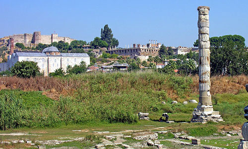 Temple of Artemis at Ephesus, Turkey