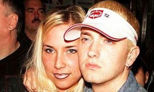 Eminem and Kim Scott-Mathers