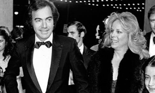 Neil Diamond and Marcia Murphey