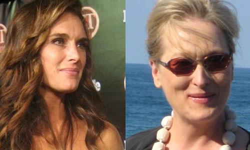 Brooke Shields and Meryl Streep