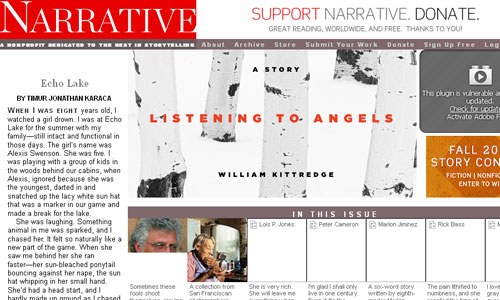 Narrative Magazine